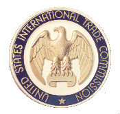 Official seal of the U.S. International Trade Commission