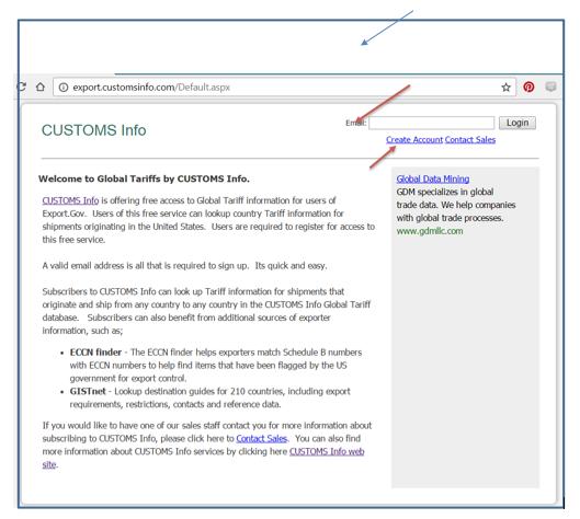 3 1-Customs Info Database a Global Tariff Lookup Tool -User